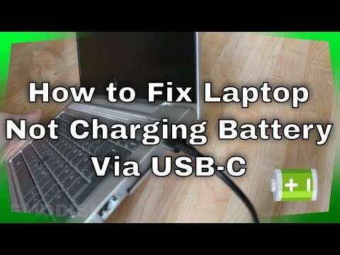 How to Fix Laptop Not Charging Battery Via USB-C - HP EliteBook 830/840/850 G5/G6 Common Solution