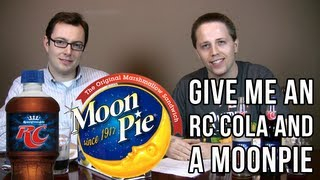 Give Me an RC Cola and a MoonPie (Soda Tasting #137)