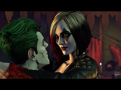 JOKER AND HARLEY QUINN KISS - Batman: The Enemy Within Episode 5 (Season 2)