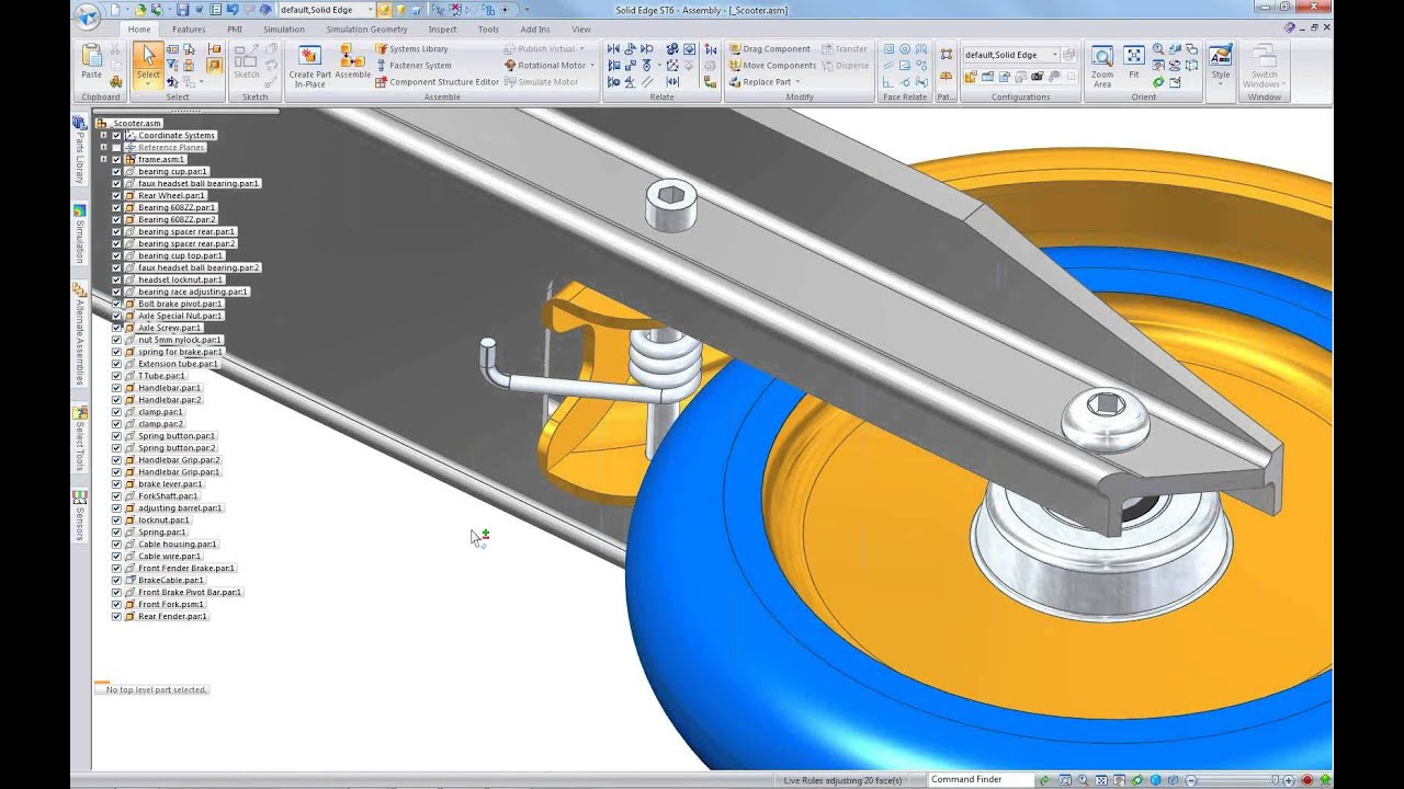 Getting Started with Solid Edge - Siemens PLM Community - 21439