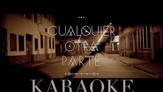 Dorian - Cualquier Otra Parte - Karaoke/Instrumental