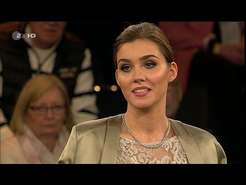 "Markus Lanz Frank Otto, Unternehmer, Nathalie Volk, Model Castingshow ""Germany's Next Topmodel"""