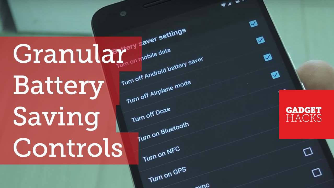 This Mod Helps You Save Battery in Every Way Imaginable [How-To]