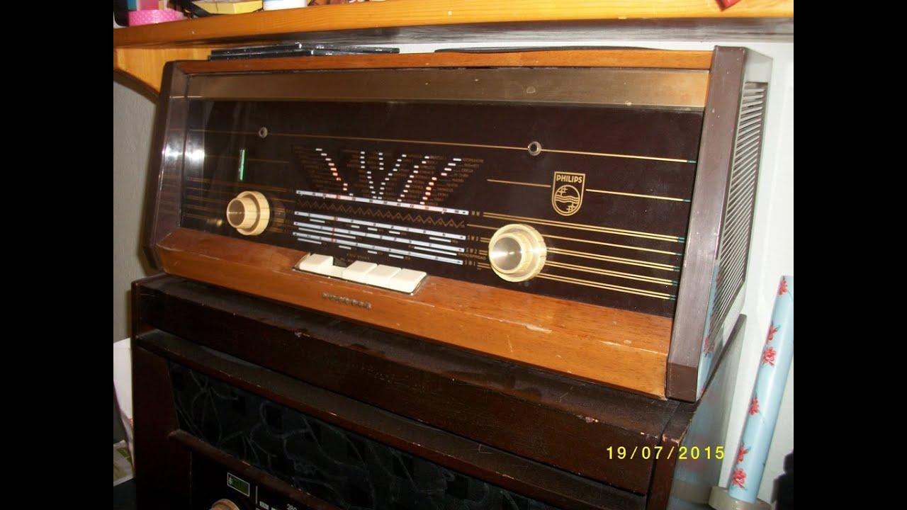 راديو فليبس قديم