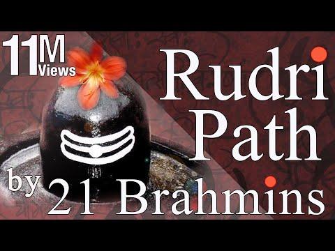 Vedic Chanting | Rudri Path by 21 Brahmins