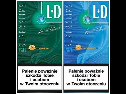 Test #42 - LD Cienkie Klikane  Zielone, Niebieskie (Option Green, Fresh)
