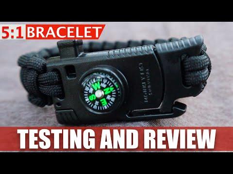 testing-the-5-in-1-survival-bracelet