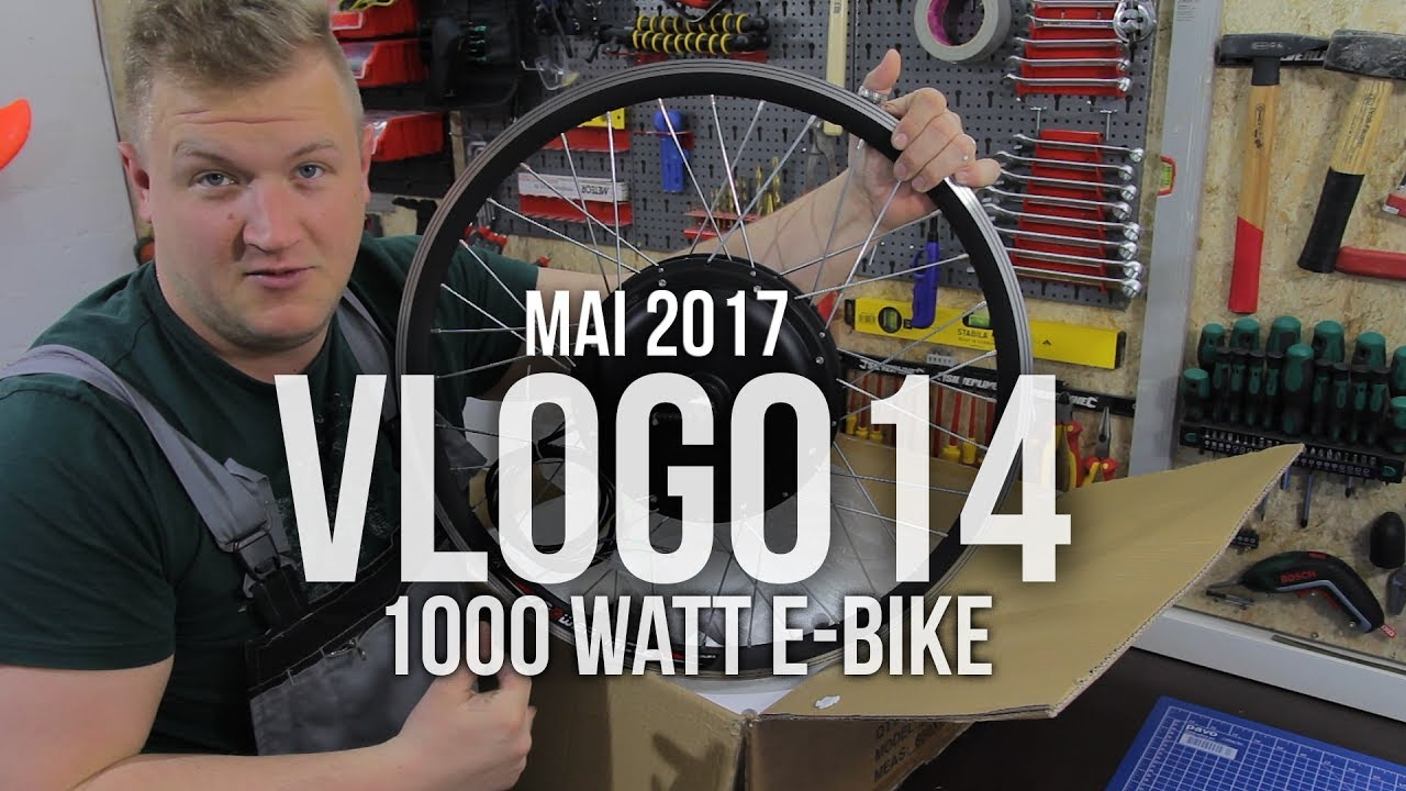 vlog014 diy 1000 watt e bike 50 km h pedelec selber. Black Bedroom Furniture Sets. Home Design Ideas