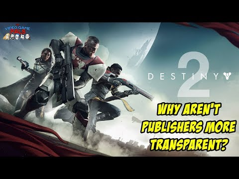 Why Aren't Video Game Publishers More Transparent? | The Video Game Pals Episode 31