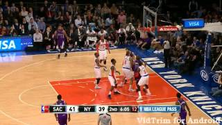 Jimmer Fredette 24 pts vs Knicks- Blow Up!