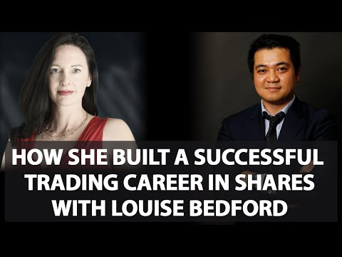 Louise Bedford - How She Built A Successful Trading Career in the Australian Sharemarket