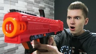 A NERF mais PROFISSIONAL!!! (Nerf Rival)
