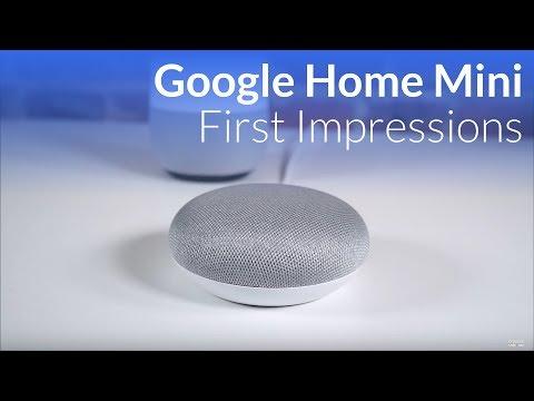 Google Home Mini Initial Impressions