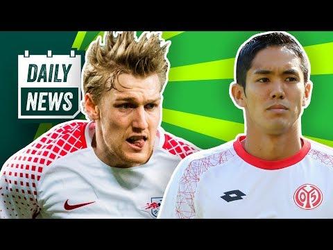Yoshinori Muto verlässt Mainz 05? Die SGE kauft ein! Forsberg könnte RB verlassen. Der VfB feilscht!