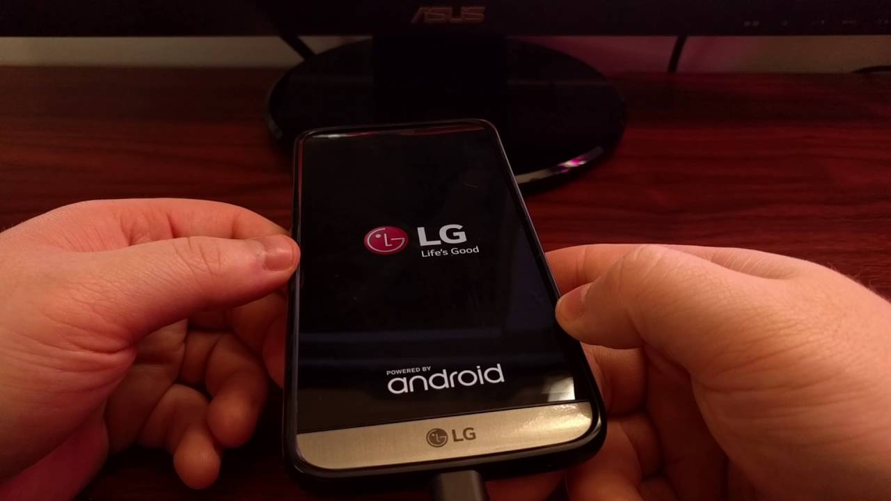 LG G5 Recovery Mode