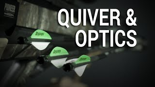 Benjamin Pioneer Airbow How To, Chapter 2 - Quiver And Optics Assembly
