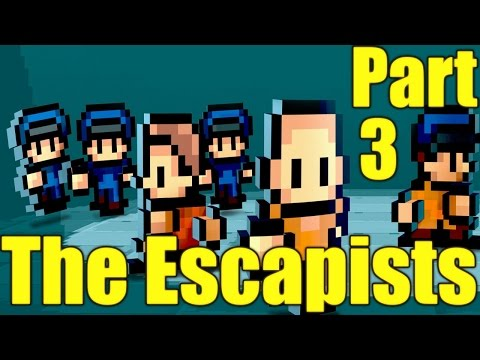 The Escapists Gameplay Playthrough Part 3 - Solitary Confinement (PC)