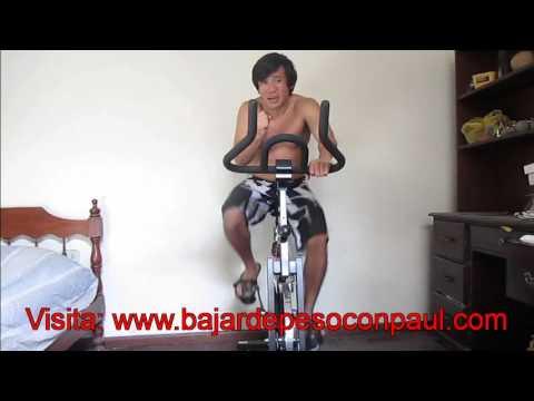 Puedo bajar de peso con spinning