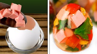 EXTREMELY DELICIOUS EGG HACKS