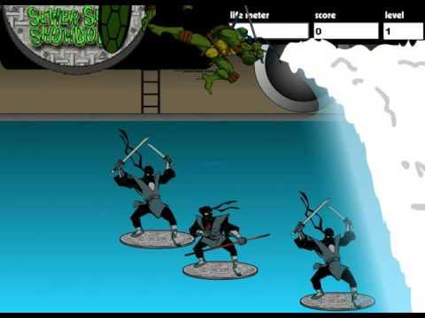 Черепашки ниндзя в канализации игры черепашки ниндзя тмт игра
