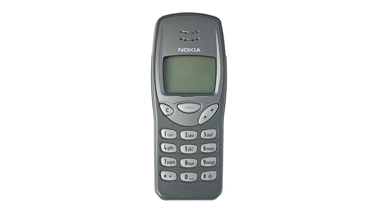 Retro Nokia 3210 Youtube