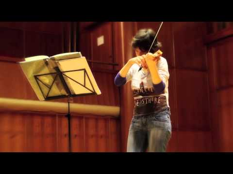 BACH - Partita, BWV 1002: I. Allemanda - Amandine Beyer