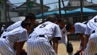001 2014年 6月 和歌山市学童選手権大会 中之島VS楠見戦