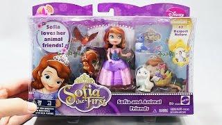 Принцесса София и друзья. Развлекающие и развивающие видео обзоры детских игрушек
