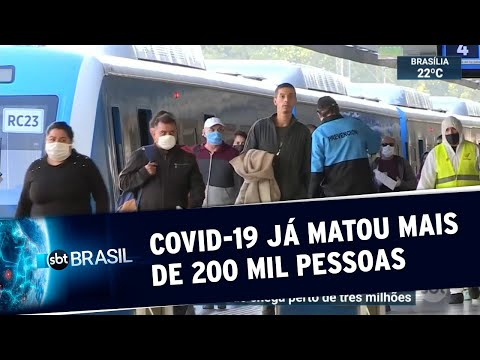 Coronavírus: mais de 200 mil pessoas foram mortas em todo o mundo   SBT Brasil (25/04/20)