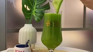 오늘의 착즙 Apple kale juice 애플 케일 …