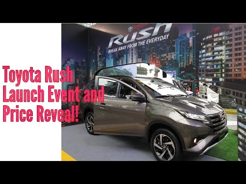 Toyota Rush - First Look and Price Reveal!