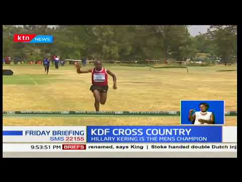 World 5,000M Champion Helen Obiri claims Kenya's defense forces cross country championships