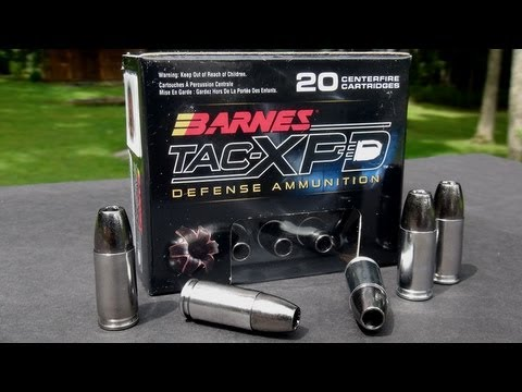 AMMO REVIEW:  Barnes 9mm 115 gr TAC-XPD Copper Hollowpoint