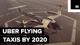 Uber Working with NASA to Make Flying Taxis a Reality
