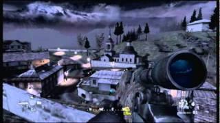 (Wii) Call of Duty Modern Warfare Reflex Mission 1 Act 1 Blackout
