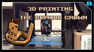 3D Printing The Roblox Domino Crown