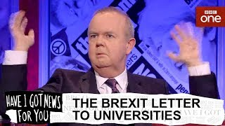 Chris Heaton-Harris's Brexit letter - Have I Got News For You: Series 54 Episode 4 - BBC One