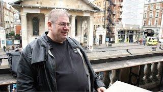 "Ben Aaronovitch, the writer of the ""Rivers of London"" supernatural crime novels, Londoner #76"
