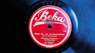 Mädel, fahr mit mir Schwebebahn (Bohème-Orchester), 1925