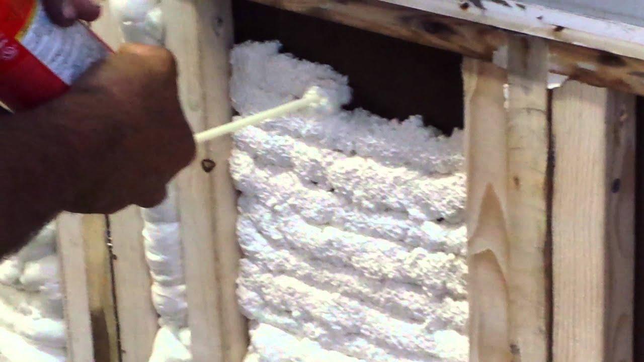 Great stuff foam - YouTube