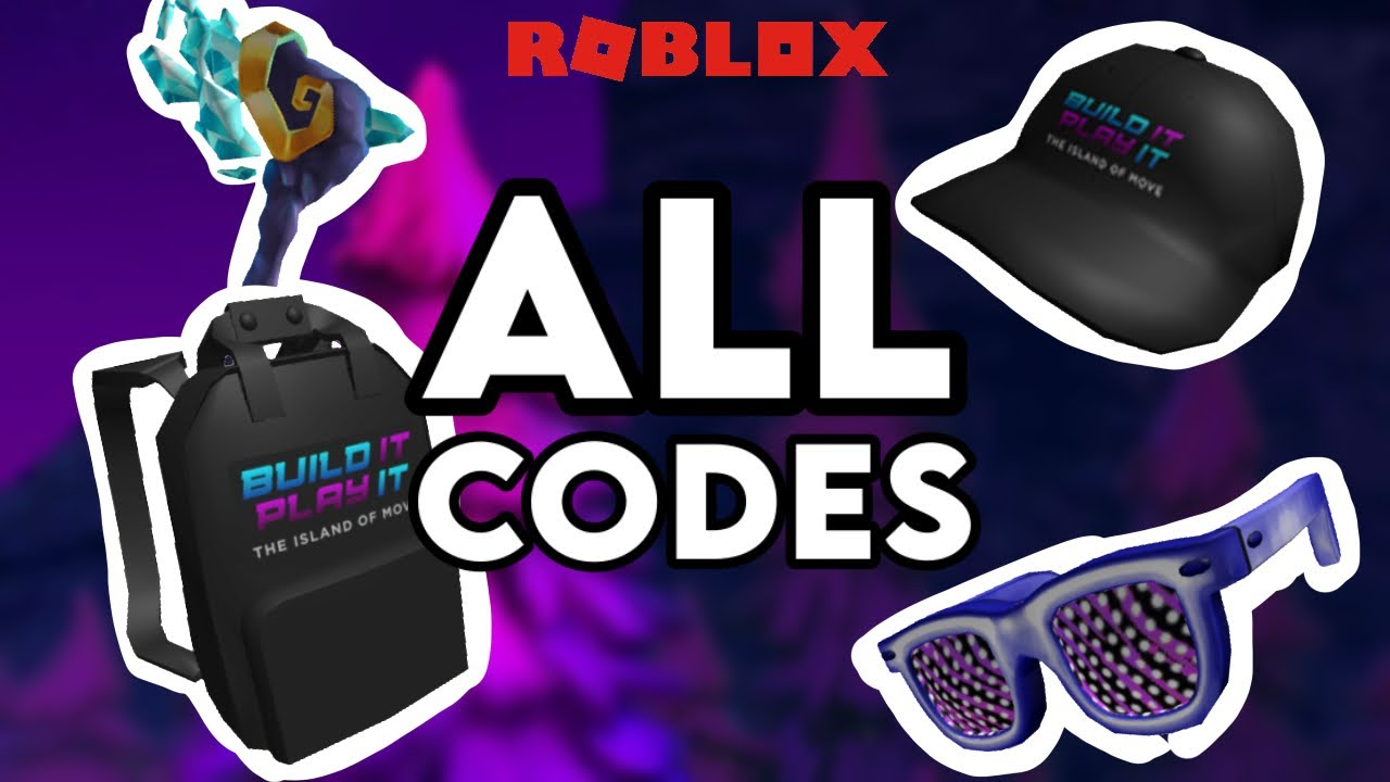 All Island Of Move Codes ROBLOX Event YouTube