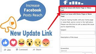 Solved Facebook Accounts Post Like Comment & Share Reached Decrease | Increase Request process 2018