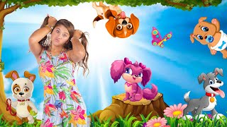 BABY DOG | Bebê Cachorrinho | Animal Songs for Kids | Sing and Dance ☆ Mileninha ☆