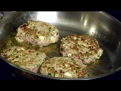 Turkey Feta Spinach Burger : Turkey Treasures