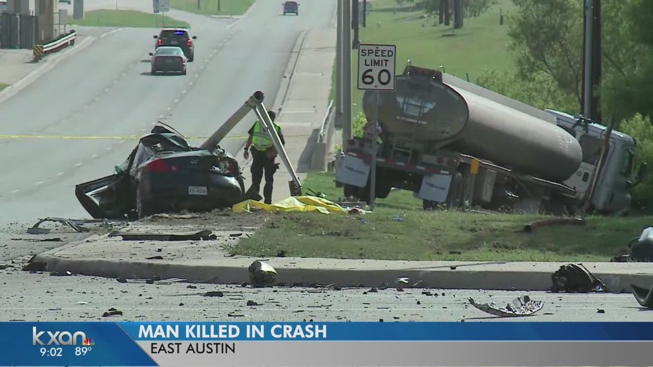 Man dead in crash on US 290 at Harris Branch Parkway