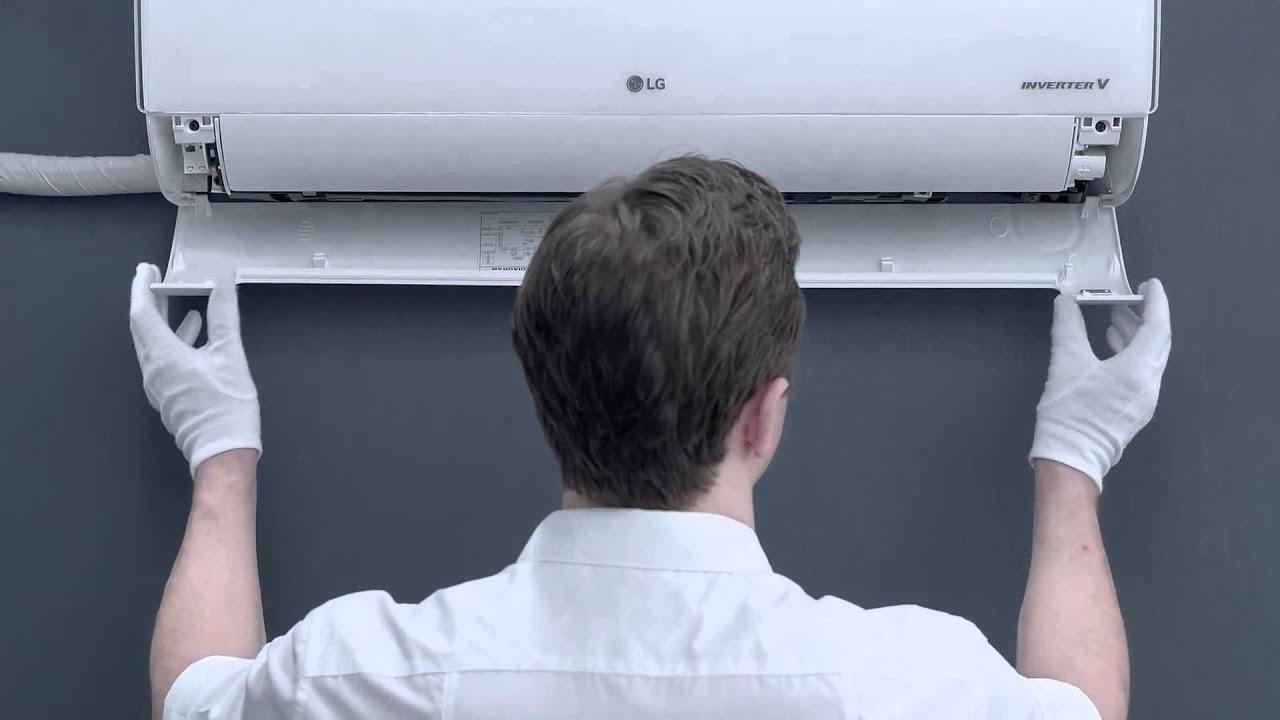 lg air conditioner quick easy installation [ 1280 x 720 Pixel ]