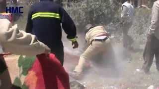 طيران النظام السوري يقتل عائلة بأكملها جبل شحشبو قرية الشركة ريف حماة 5-5-2015