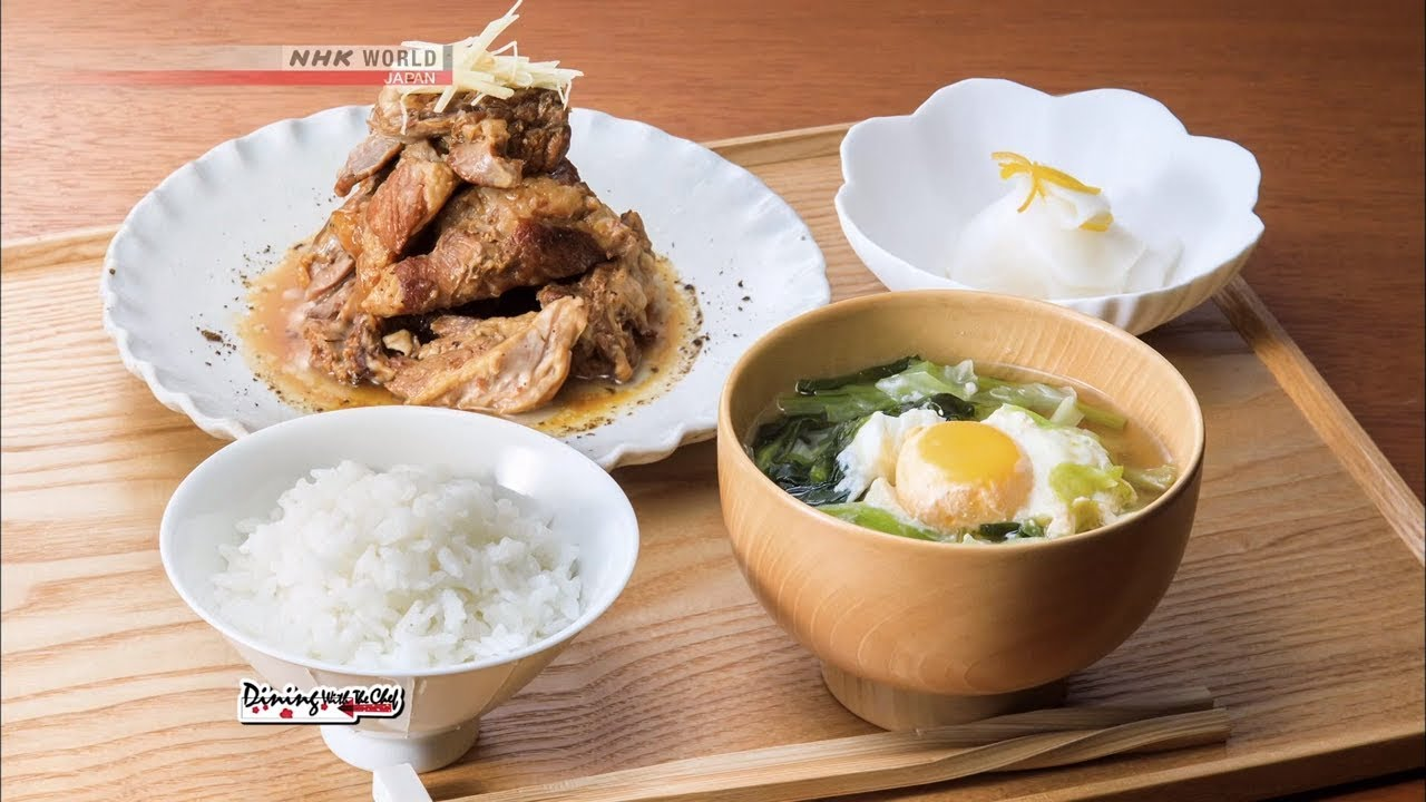 Photo of Chef Rika's Teishoku Meal Set with Pork Spare Ribs [Japanese Cooking] – Dining with the Chef – video