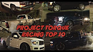 Project Torque Racing TOP 10 LIST