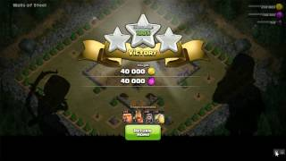 Attack on Goblins | Walls of Steel | Clash of Clans